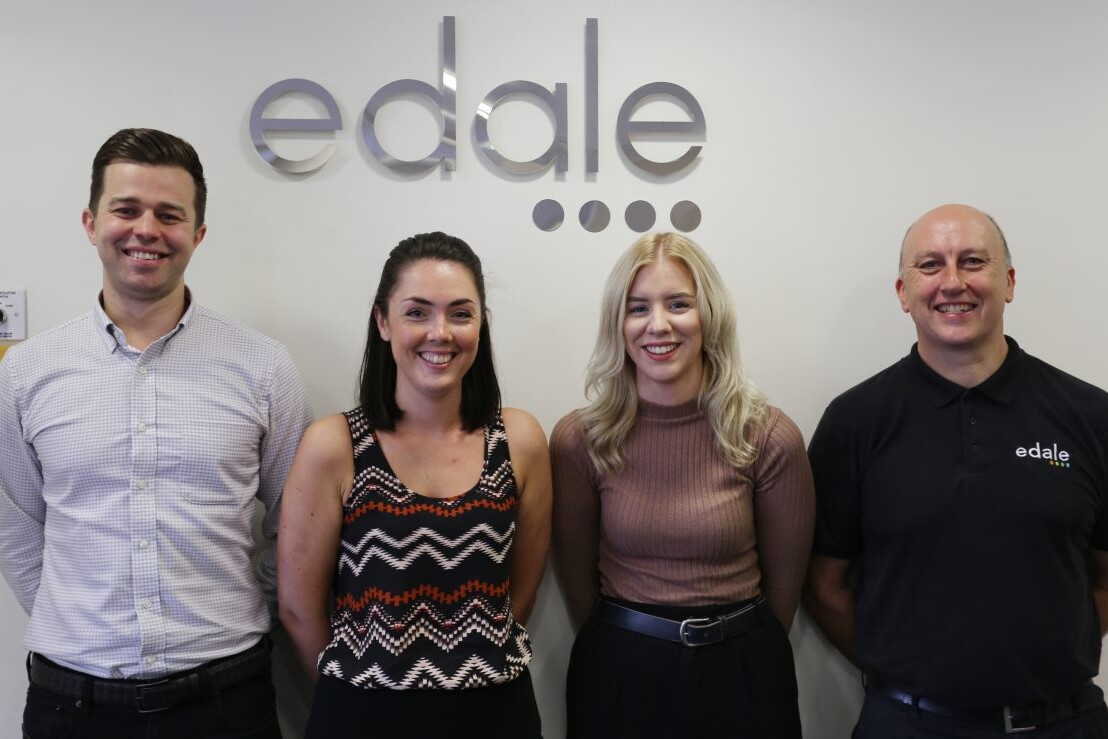 Edale's Aftersales Team receives vital boost to support worldwide customer base.