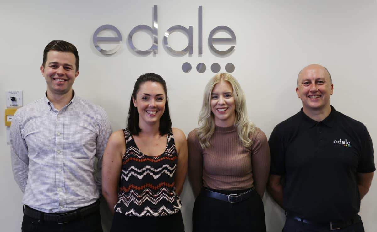 Edale's Aftersales Team receives vital boost to support worldwide customer base. Meet The Edale Team