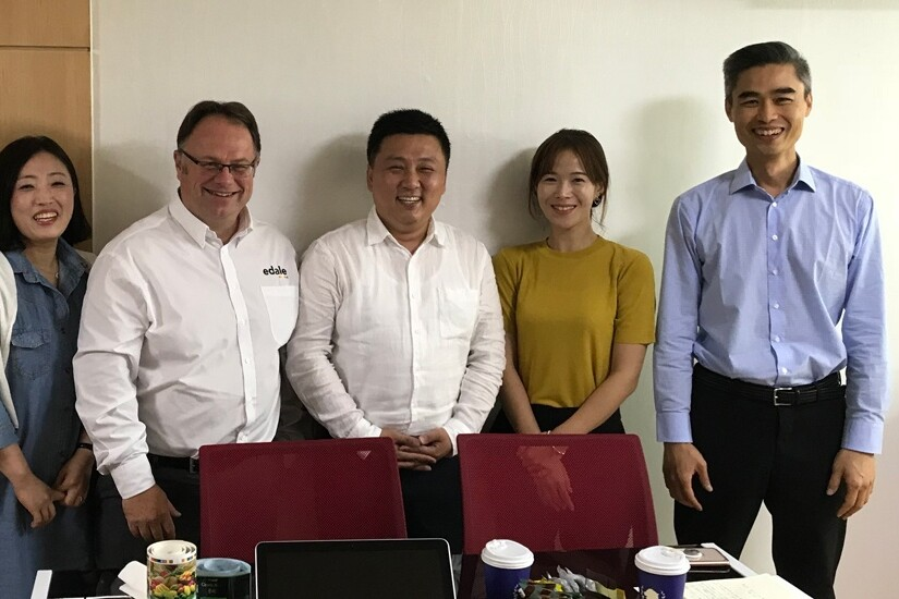 Edale appoints LnS international as agent for Korea
