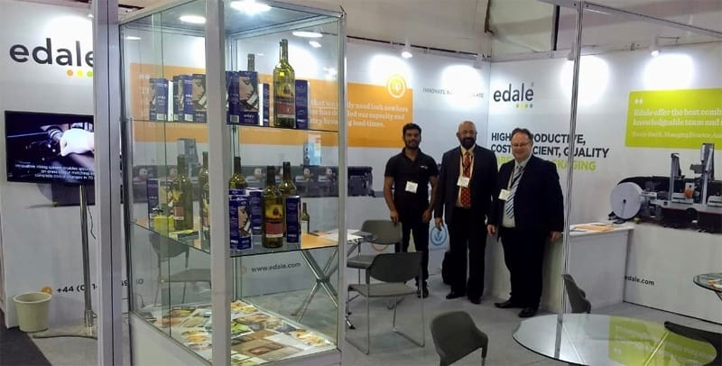 Edale Ltd reports success at Label Expo India