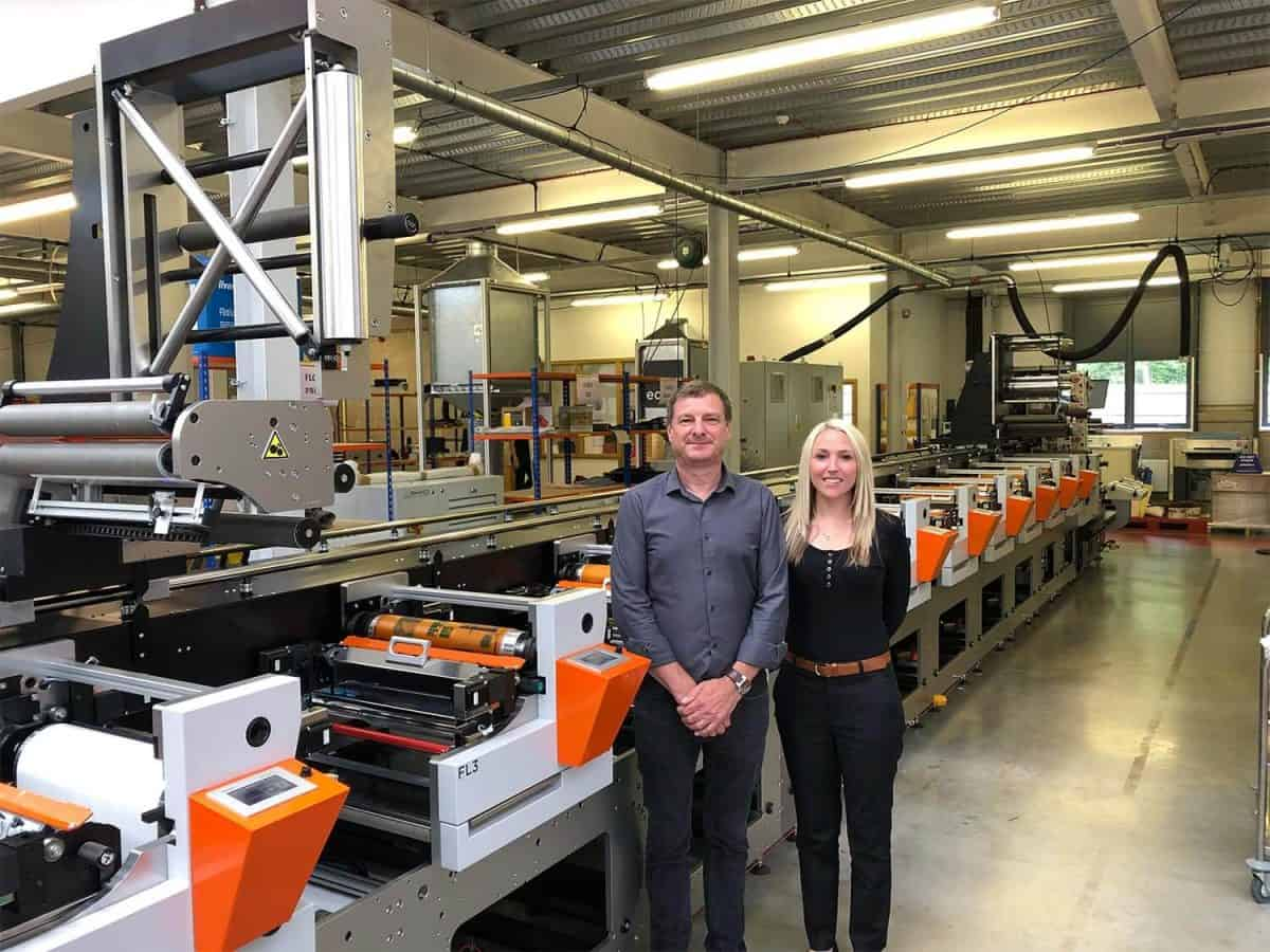 New Edale FL3 Label Printing Press for The GSH Group