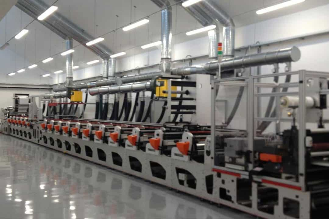 Demax Invest in Second FL5 Flexographic Press for Lottery Card Production
