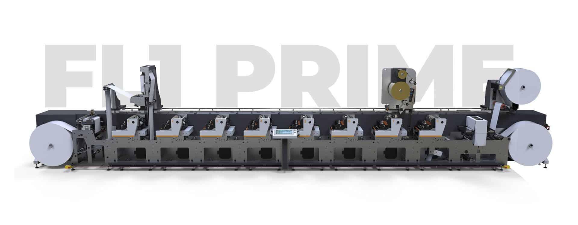 Flexographic Label Printing Machine