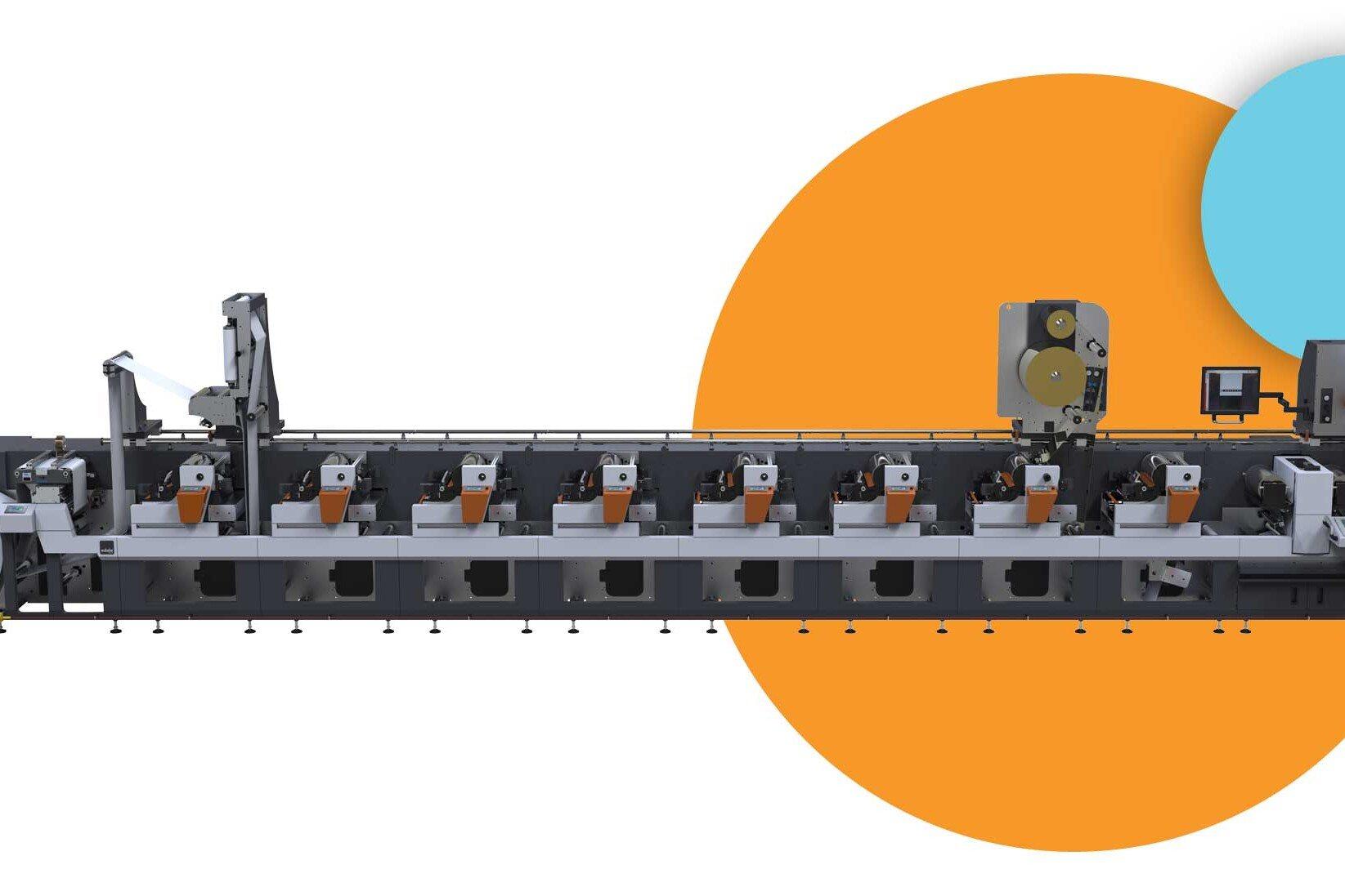gravure printing machine and flexographic label press