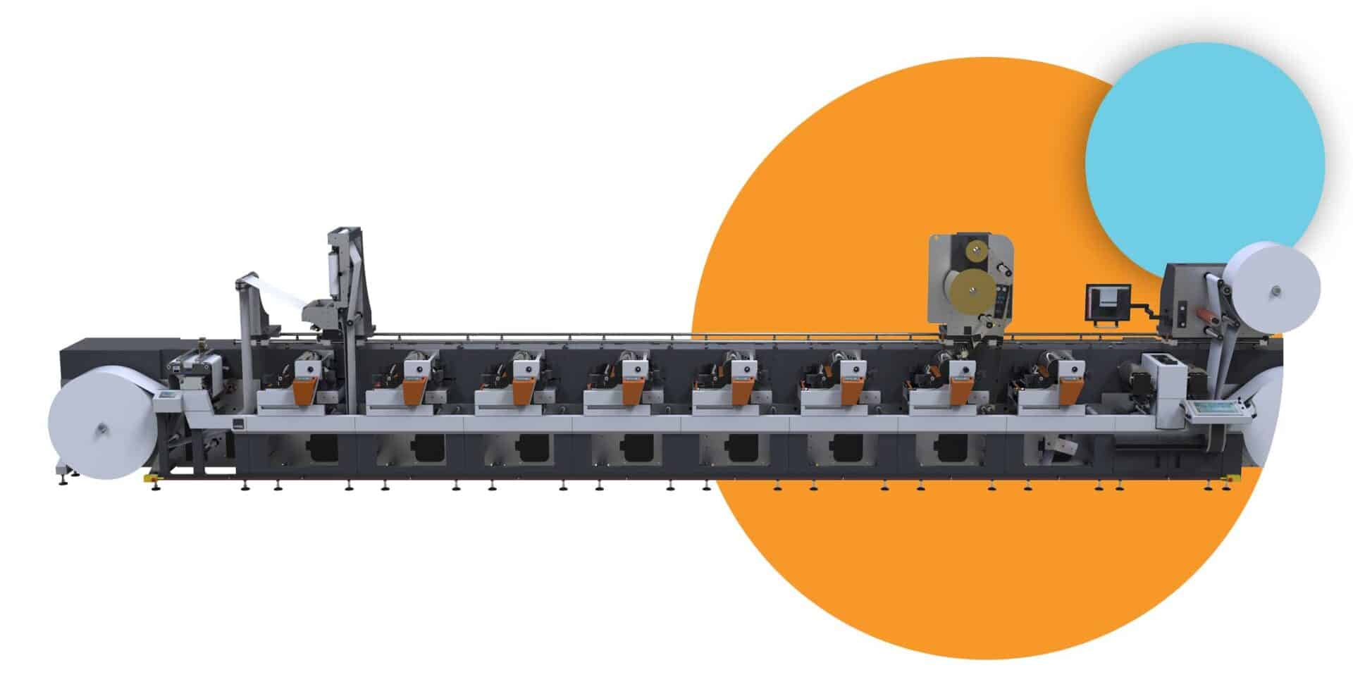 FLEXOGRAPHIC LABEL PACKAGING PRESSES