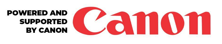 Powered and Supported by Canon