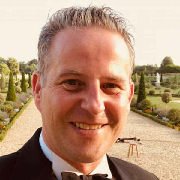 JAMES BROUGHTON Managing Director