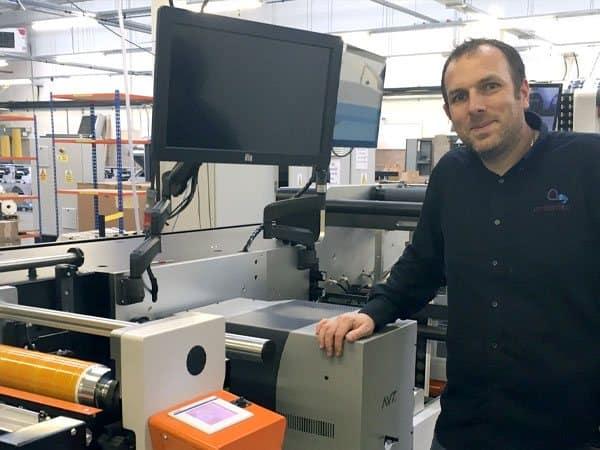 Amberley Adhesive Labels - FL3 Label Press Machine