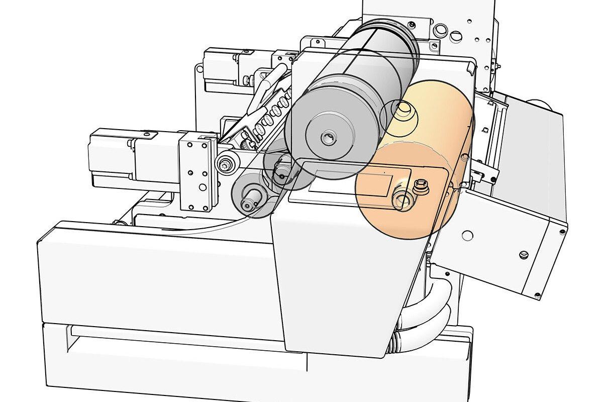 Gearless Printing Machine
