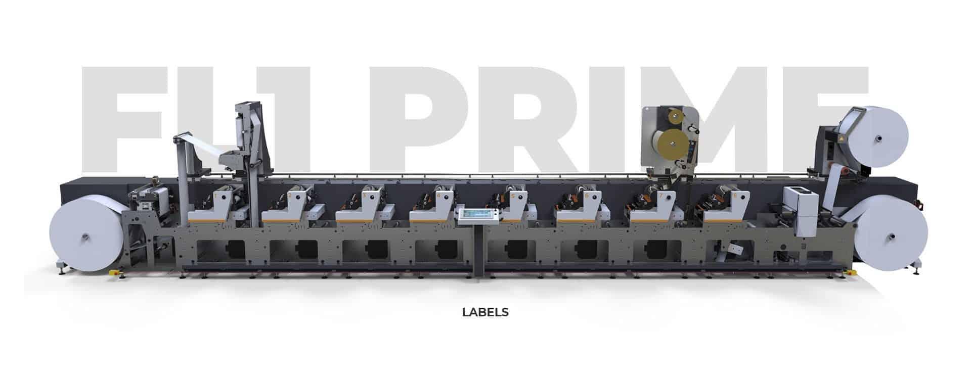 FL1 PRIME - Single-Pass Label Printer Machine